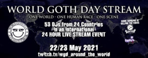 22.-23.05.2021: World Goth Day Livestream