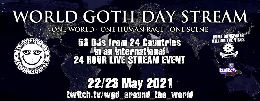22.-23.05.2021: World Goth Day Livestream