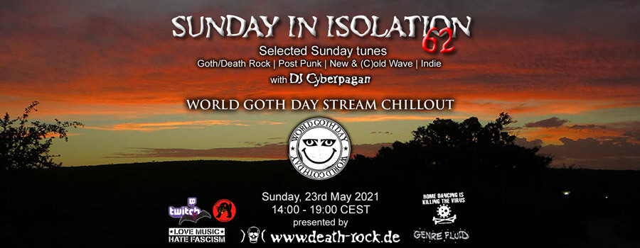 23.05.2021: Sunday in Isolation #62 Livestream