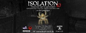 27.05.2021: Isolation #63 Livestream