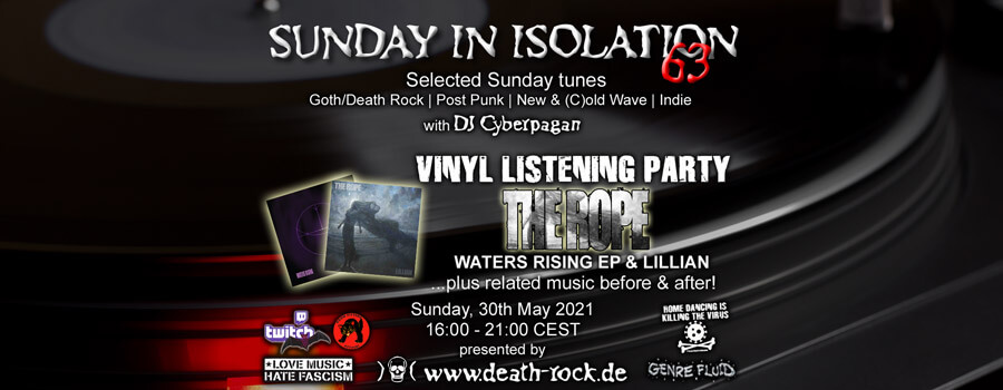 30.05.2021: Sunday in Isolation #63 Livestream