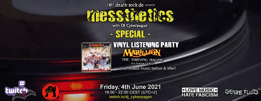 04.06.2021: messthetics special Livestream