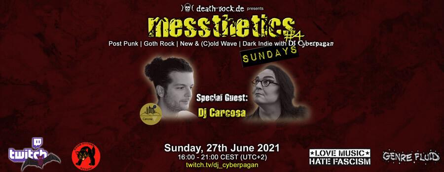 27.06.2021: messthetics sundays #4 Livestream