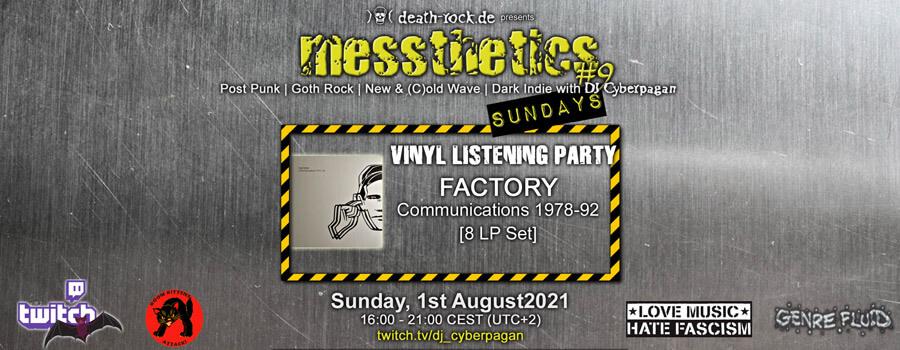 01.08.2021: messthetics sundays #9 Livestream
