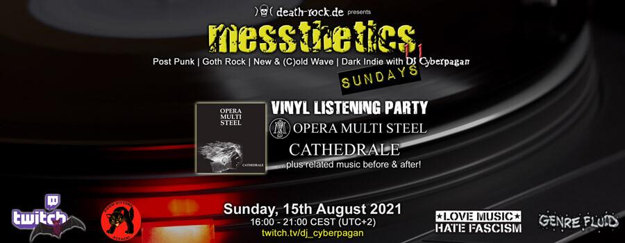 15.08.2021: messthetics sundays 11 Livestream