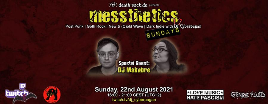 22.08.2021: messthetics sundays 12 Livestream
