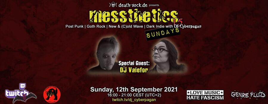 12.09.2021: messthetics sundays 15 Livestream