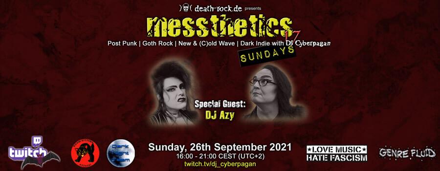 26.09.2021: messthetics sundays 17 Livestream