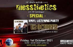 01.10.2021: messthetics special Livestream