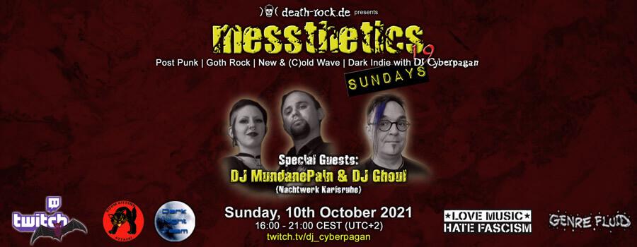 10.10.2021: messthetics sundays 19 Livestream