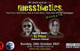 24.10.2021: messthetics sundays 21 Livestream