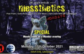 11.10.2021: messthetics mondays special Livestream
