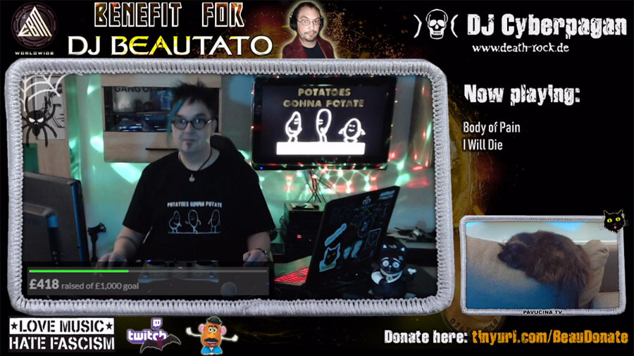 DJ Beautato Livestream